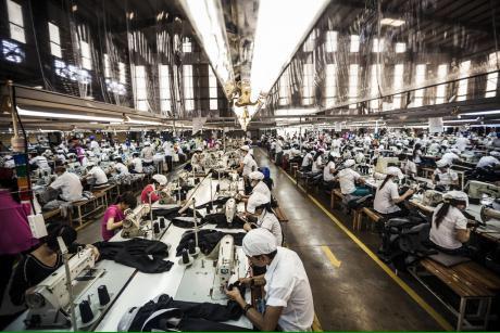 Vietnamda Toms Shoesa Retim Yapan Fabrikada 8000 Ii Fiili Greve Balad